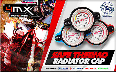 Termostato Tappo Radiatore Cross Kawasaki 4Mx Blu Ergal