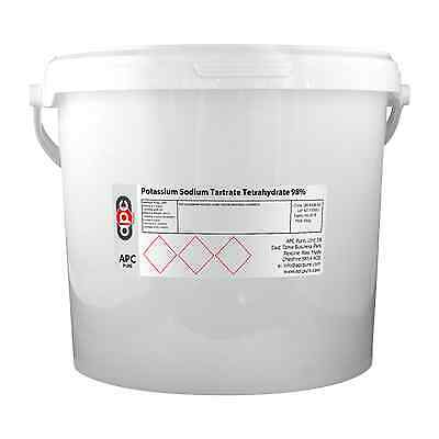 Potassium Sodium Tartrate Tetrahydrate 98% 5KG *Delivered by Courier*
