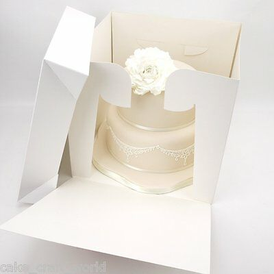 Tall Stacked Cake Box (11 x 10 Inches High)