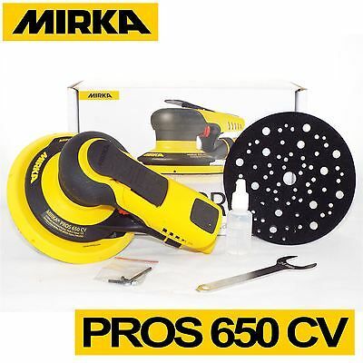 "Mirka PROS 650CV 8995650111 150mm 6"" Central Vacuum 12,000rpm Orbital Air Sander"