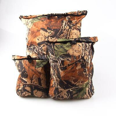 3pc Set Camo Waterproof Dry Bag Pouch for Swimming Canoeing Kayaking Camping
