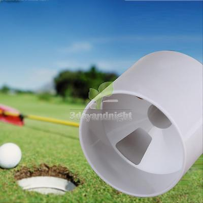 New Backyard Practice Golf Hole Pole Cup Flag Stick Putting Green Flagstick