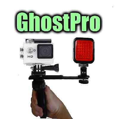 Paranormal Ghost Hunting Equipment GHOSTPRO Night Vision HD Action Cam w/ IR