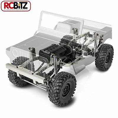 Gmade 10th Scaler GS01 Jeep Sawback 4WD Scale Crawler Kit Leafs Metal Willys RC