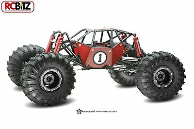 Gmade 10th R1 Rock Crawler Buggy 4WD Builders KIT CLEAR Body add electrics RC