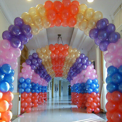 100 x Hot Sale Pearl Latex Ballons Party Wedding Birthday Decoration 10 inch