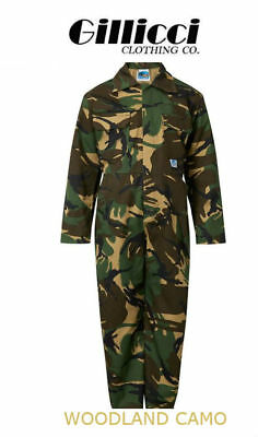 BlueCastle Tearaway Junior Kids Camo,Navy & Blue Coverall Overall Boiler Suite