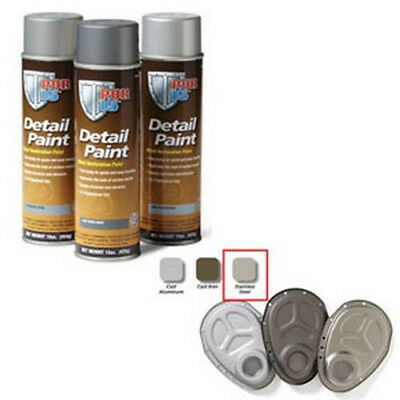 Detail Paint Stainless Steel, 15 oz. Spray POR-41818 Brand New!