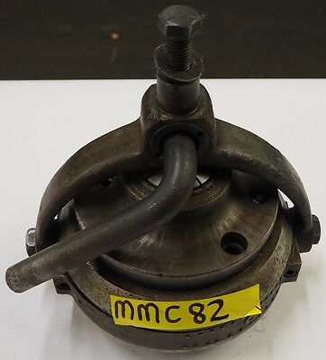 """HARDINGE 1-3/4"""" Capacity A2-6 Spindle Mounting Yoke and Mounting Collet Chuck"""