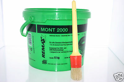 Rema Tip Top Mont 2000 Tyre Paste Tyre Soap 5Kg And Paste Brush