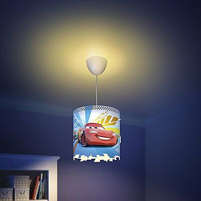 Philips Disney Cars Childrens Ceiling Pendant Lightshade