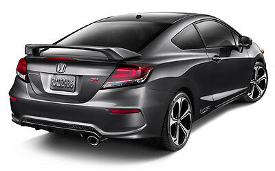 Spoiler Wing For 12-16 Honda Civic 2Dr Coupe SI Style Primer ABS Rear Trunk