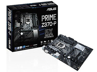Asus PRIME Z370-P, Best Budget Gaming Motherboards S-1151 for Coffee Lake CPU