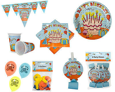 Partysets Partyset Happy Birthday Geburtstag Party Dekoration