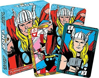 Thor Marvel set of 52 playing cards (nm 52280)