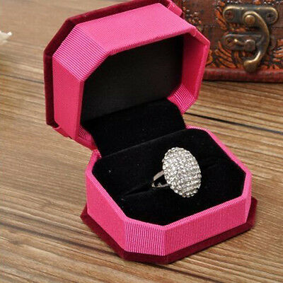 Fashion Women Wedding Rings Engagement Ring Silver Crystal Jewelry Size 6-11 #