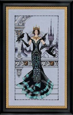 Mirabilia Designs - The Raven Queen Cross Stitch Chart Pack (Md139)