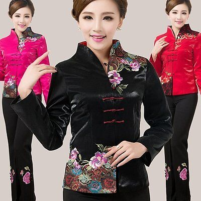 Women Outerwear Jackets Chinese Traditional Style Fashion Coat M L XL XXL 3XL 4X