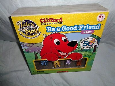 Tales To Play Clifford The Big Red Dog Be A Good Friend Game 2012 New