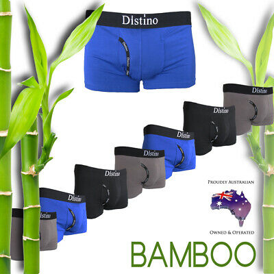 Mens Bamboo Underwear - Men's Distino Boxer Briefs / Boxers / Jocks S M L XL XXL