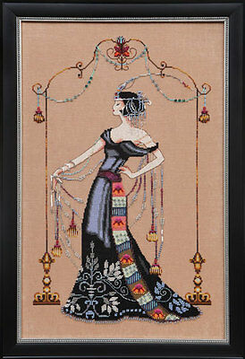 Mirabilia Designs - At The Met Cross Stitch Chart Pack (Md135)