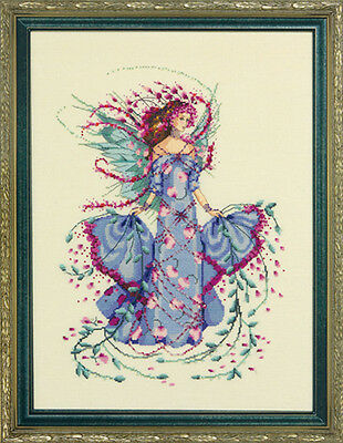 Mirabilia Designs - October Opal Fairy Cross Stitch Chart Pack (Md132)