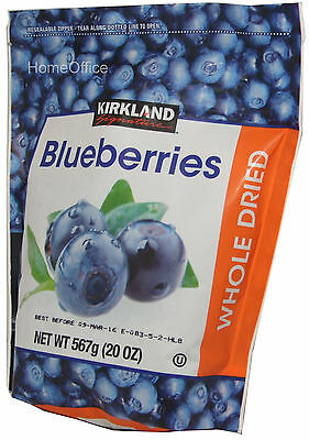 Whole Dried Blueberries - Large 567g Ideal Snacking / Baking Etc