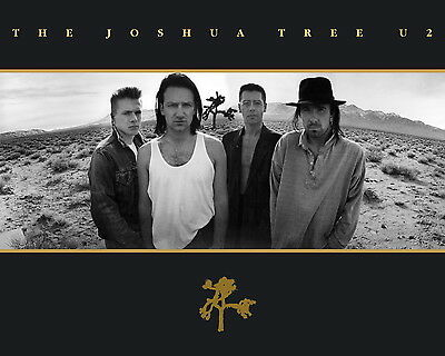 U2 - The Joshua Tree Promotional Poster, 8x10 Photo