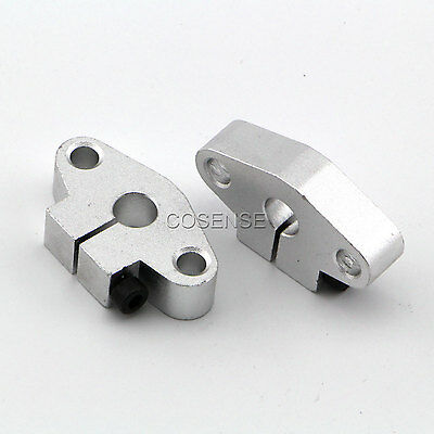 2x SHF8 8mm Linear Rod Rail Shaft Support CNC Route New
