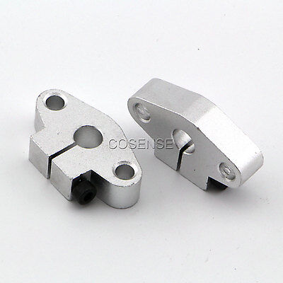 2x SHF20 20mm Linear Rod Rail Shaft Support CNC Route New