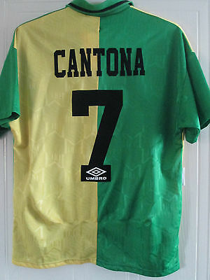 Manchester United 1992-1994 Cantona Newton Heath Football Shirt Medium /39437