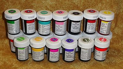 Icing Colors,Wilton,Concentrated Gel,1 oz. bottle,Edible Food Color,Certified