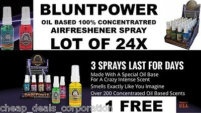 BluntPower 100% Concentrated Oil Burner (Lot of 24 X)+ 1 FREE = 25 (CUSTOM LIST)