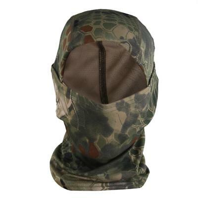 Outdoor Tactical Hunting Neck Warmer Full Face Mask Hat Cap Balaclava Snood