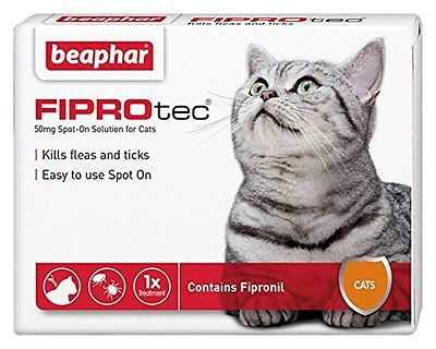 Beaphar FIPROtec Pipette for Cats 1 Treatment Pack