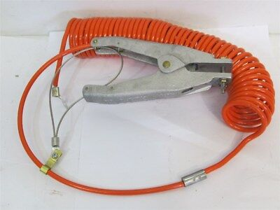 Stewart R. Browne RAC20, 20' Retract-A-Clamp Coiled Static Grounding Assembly