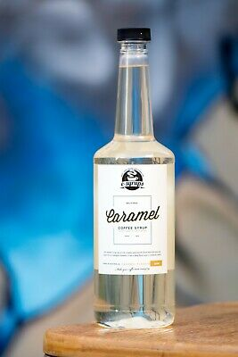 Caramel Syrup 3 x bottles 750ml. Free delivery