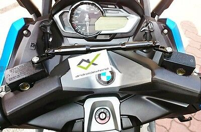 BMW C600SPORT / C650SPORT ANODIZ.CNC CROSSBAR (forGPS,Action Camera,Cup,Speaker)