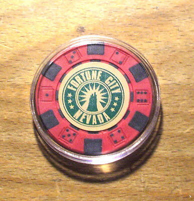 Dead Rising 2 Fortune City, Nevada - Poker Chip - Card Guard - Red