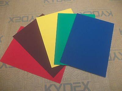 2 mm KYDEX T sheet A4 A3 A2  SHEATH HOLSTER, Blue Red Yellow Green Currant