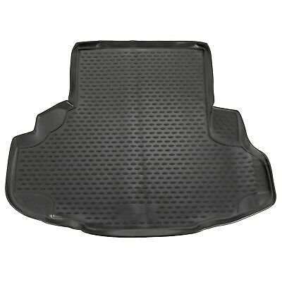 Jaguar XF Saloon 08-16 Rubber Boot Liner Tailored Fitted Black Floor Protector