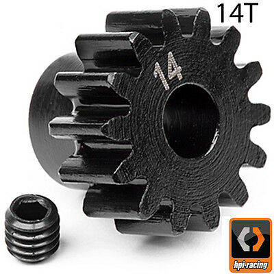 HPI # 100913 - PINION GEAR 14 TOOTH (1M/5mm SHAFT) Savage Trophy Vorza FLUX HP