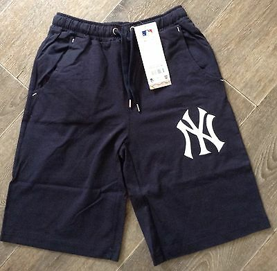 New York Yankees MLB - Majestic Athletic - Baseball - Fleece Shorts - BNWT