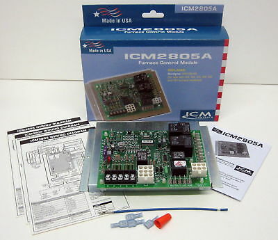 ICM2805 Replaces Intertherm Miller Nordyne 903106 924631 Furnace Control Board