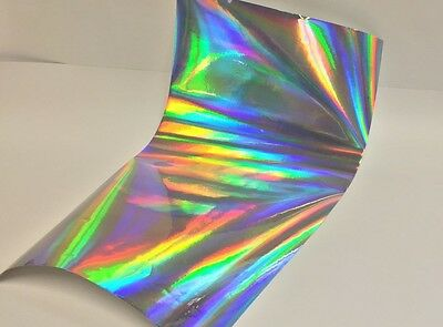 Holographic Overall / Oilslick / Rainbow/ Shimmer Sign Vinyl 12 Inch x 10 feet