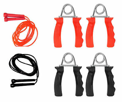 Skipping Rope Hand Gripper Boxing,MMA,Karate,weight Training, Fitness Set