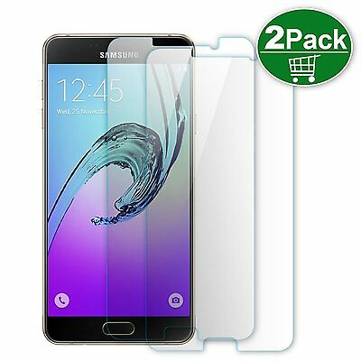 2 x Scratch Resist Tempered Glass Screen Protector Film Guard for Samsung NOTE 5