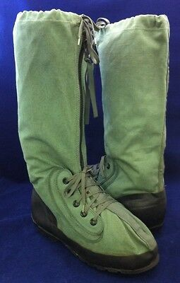 NEW Genuine USGI Mukluk Extreme Cold Weather Boots Green Duck Canvas XS S M L XL