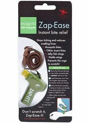 2 Packs of Incognito  Zap-Ease Instant Bite Relief 25g