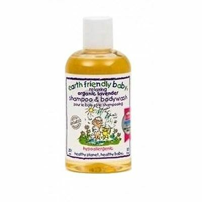 2 Packs of Earth/F  Calming Lavender Shampoo & Body Wash 250ml